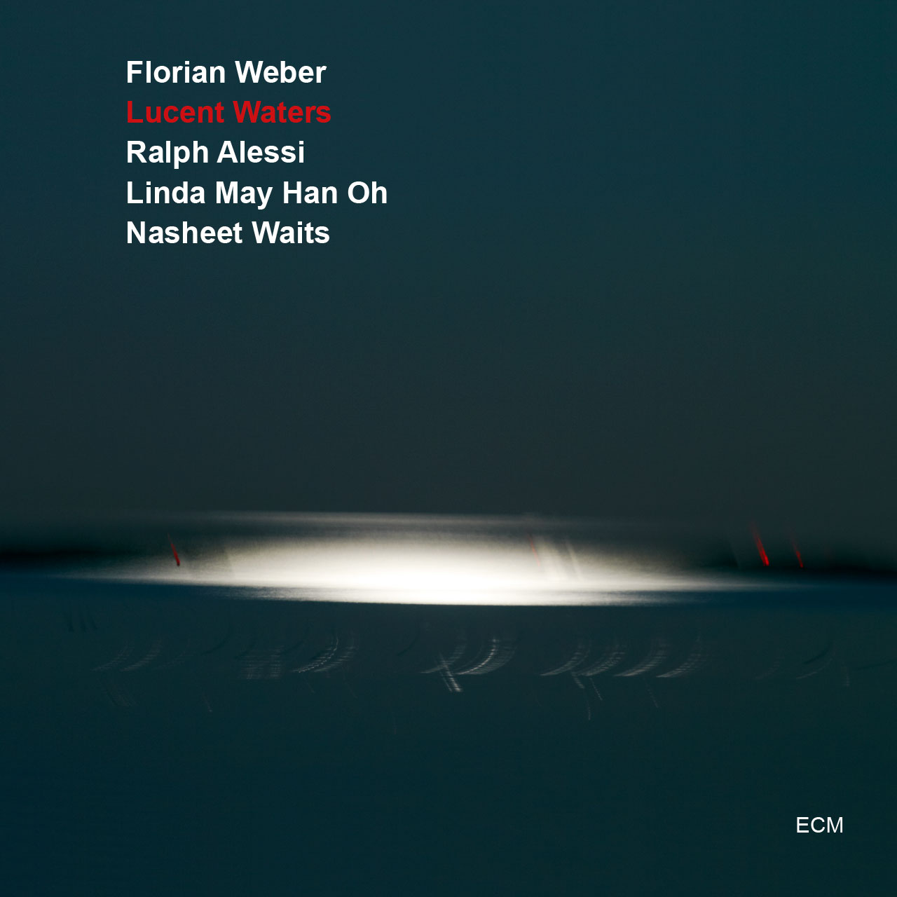 CD Cover Florian Weber Lucent Waters