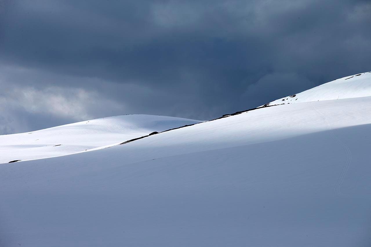 Vidda snø