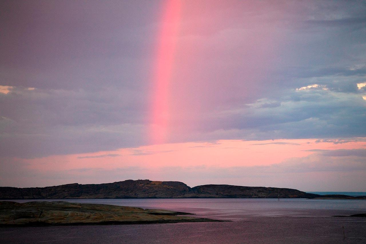 Sandøya syd regnbue