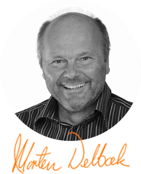 Portrett Morten Delbæk